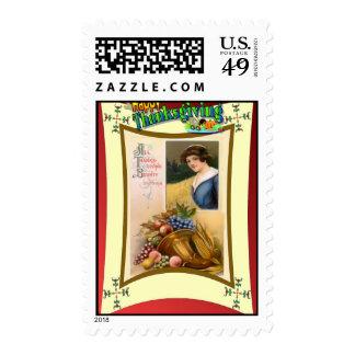 Pilgrims planty stamps