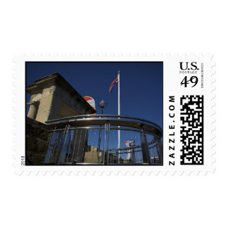 Pilgrims Point, Barbican, Plymouth Postage Stamp