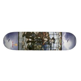 Pilgrims Progress (Cross my heart) Skateboard Deck
