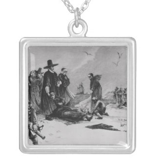 Pilgrims Silver Plated Necklace