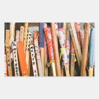 Pilgrims' Walking Sticks Stickers