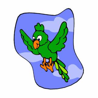 Pili Parrot Photo Cutout
