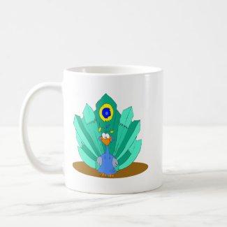 Pili Peacock mug