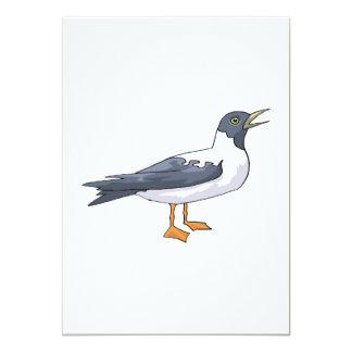 "Pili Pigeon.png Invitación 5"" X 7"""