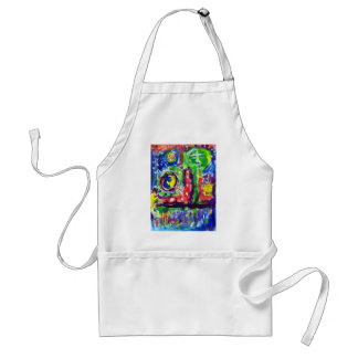 Piliero Abstract 11 Adult Apron