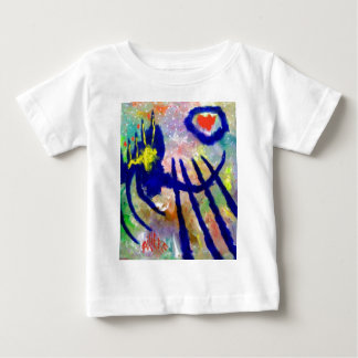 Piliero Abstract Color Baby T-Shirt
