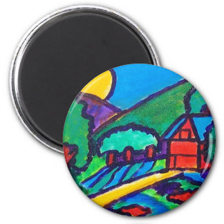 Piliero and Son 2 Inch Round Magnet
