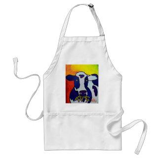 Piliero de la vaca wow delantal