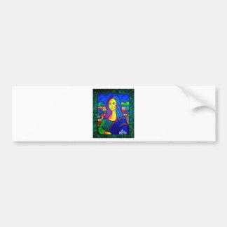 Piliero Mona Lisa Bumper Stickers