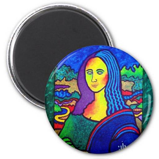 Piliero Mona Lisa Imán Redondo 5 Cm
