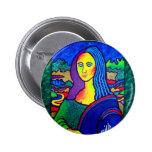 Piliero Mona Lisa Pinback Button