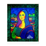 Piliero Mona Lisa Postal