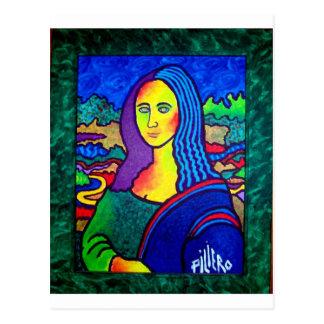 Piliero Mona Lisa Post Card