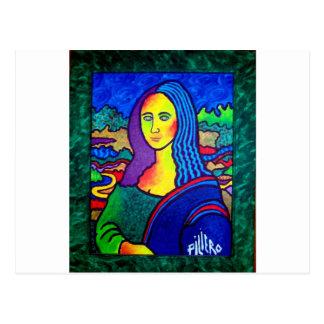 Piliero Mona Lisa Tarjeta Postal