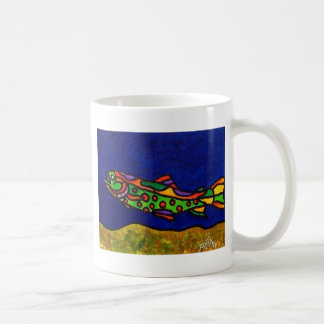 Piliero Trout Coffee Mug