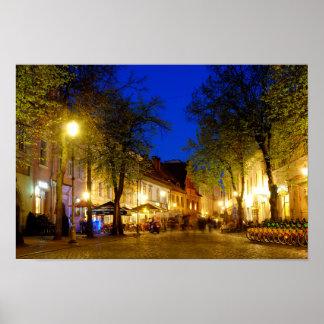 Pilies street poster