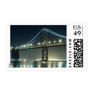 Pilings along the Embarcadero, San Francisco Postage Stamp