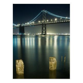 Pilings along the Embarcadero, San Francisco Postcard