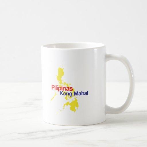 Pilipinas Kong Mahal Coffee Mugs