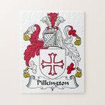 Pilkington Family Crest Jigsaw Puzzles