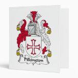 Pilkington Family Crest Vinyl Binder