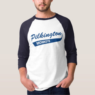 Pilkington Monkeys Blue 3/4 tee