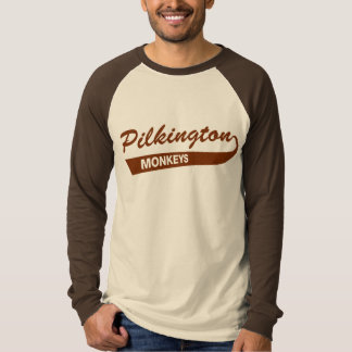 Pilkington Monkeys Brown Raglan tee