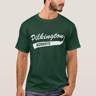 Pilkington Monkeys Forest Green tee