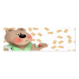 Pill Bear Business Card Templates