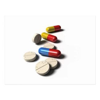 Pill Postcard