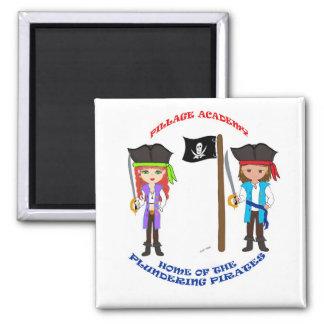 Pillage Academy Capt Thaddeus & Mad Morgan Magnet Magnets