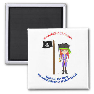 Pillage Academy Mad Morgan Magnet Magnets