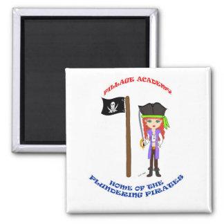 Pillage Academy Mad Morgan Magnet