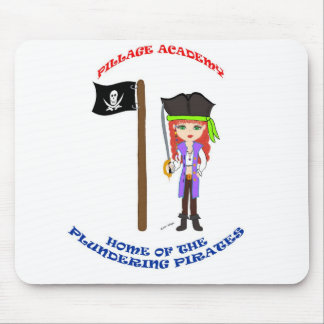Pillage Academy Mad Morgan Mousepad