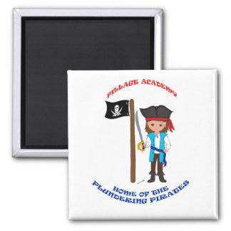 Pillage Academy Thaddeus Magnet Refrigerator Magnets
