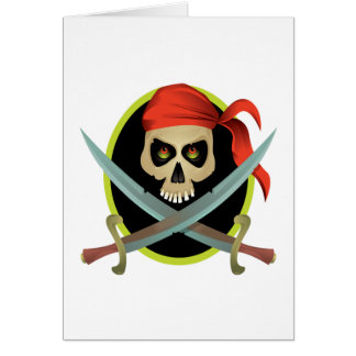 Pillage And Plunder Greeting Card