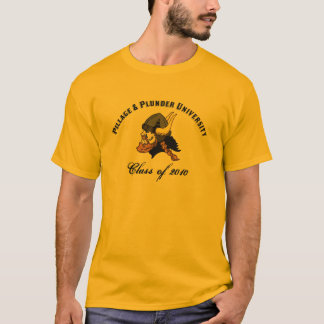 Pillage and Plunder University Funny Viking T-Shirt