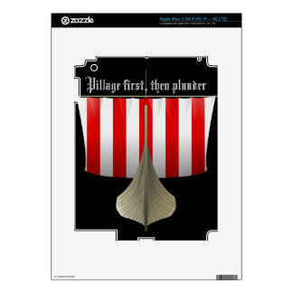 Pillage First Then Plunder Skin For iPad 3