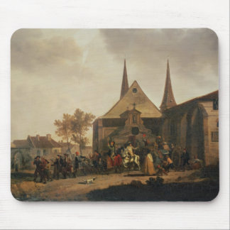 Pillage of a Church during the Revolution Mouse Pad