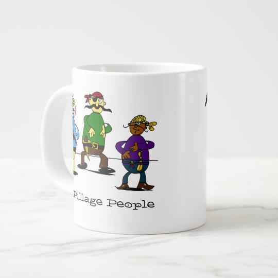 Pillage People Pun Mug