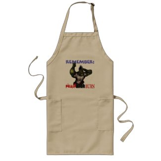 Pillage Then Burn Apron