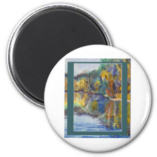 Pillager State Forest Round Magnet