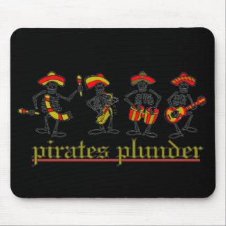 pillaje v1 de los piratas alfombrillas de raton