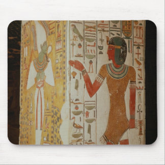Pillar depicting Osiris and a priest wearing Mouse Pad