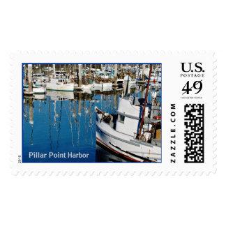 Pillar Point Harbor Stamp