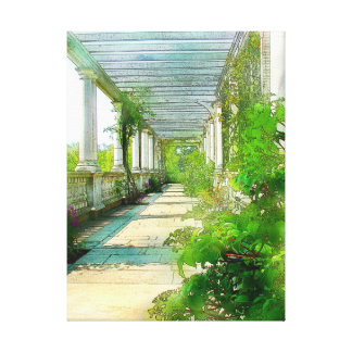 Pillars as a painting gallery wrapped canvas