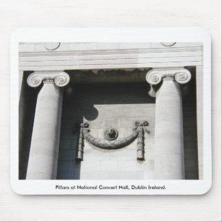 Pillars at National Concert Hall, Dublin Ireland Mousepads