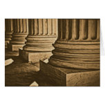 Pillars at Supreme Court Vintage Photograph Cards