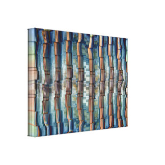 Pillars Gallery Wrapped Canvas