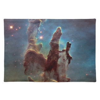 Pillars of creation cloth placemat